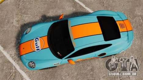 Porsche 911 Turbo 2014 [EPM] Gulf para GTA 4 vista direita