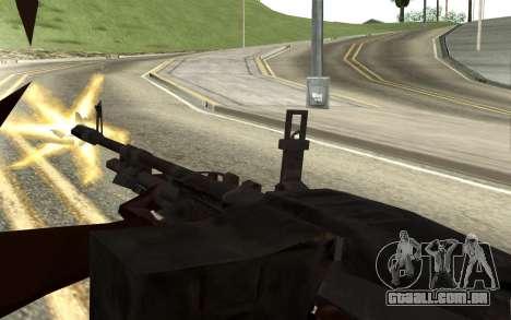 M60E4 para GTA San Andreas quinto tela