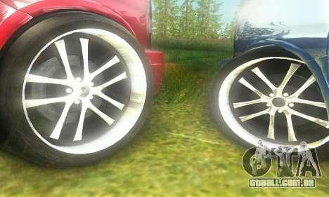 GMC Savana para GTA San Andreas vista traseira