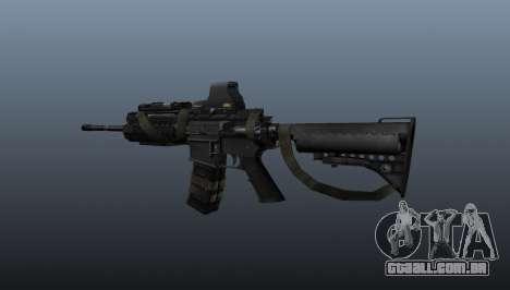 M4 Carbine Sopmod SIRS para GTA 4 segundo screenshot