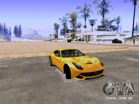 SA_RaptorX v 2.0 para PC fraco para GTA San Andreas