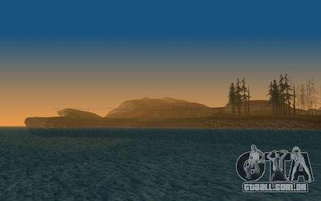 Timecyc v2.0 para GTA San Andreas sexta tela