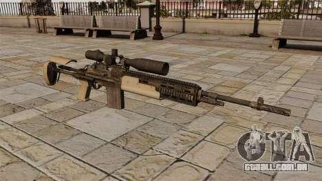 Fuzil M14 para GTA 4