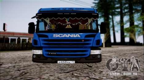 Scania P400 para GTA San Andreas