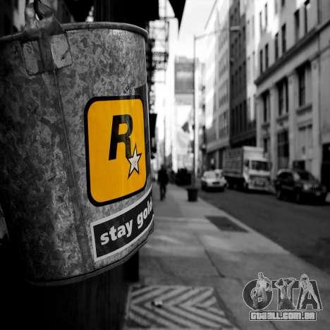 Telas de carregamento Rockstar para GTA 4 quinto tela