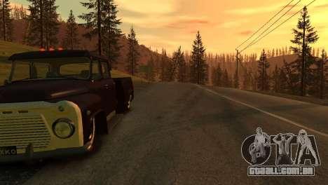 GAZ 53 para GTA 4 vista de volta