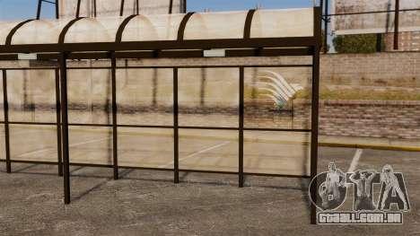 Paragens de autocarro Naruto para GTA 4 sexto tela