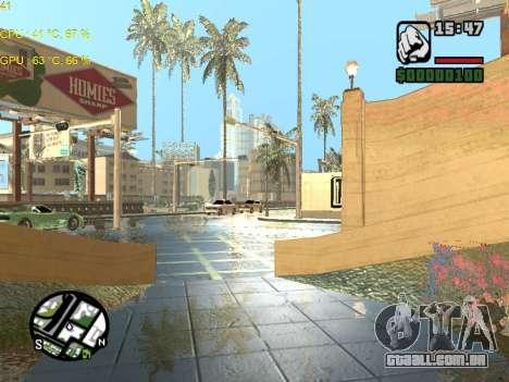 SA Render Public-Beta v0.1 para GTA San Andreas terceira tela