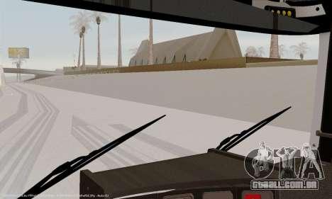 Painel ativo v. 3.2 completo para GTA San Andreas sexta tela