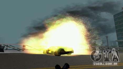 Novos efeitos gráficos v. 2.0 para GTA Vice City quinto tela