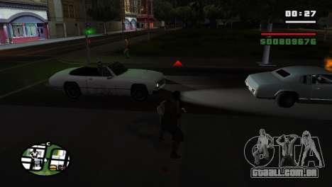 Brass Knuckles para GTA San Andreas quinto tela
