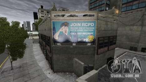 Delegacia de polícia de Raccoon para GTA 4 terceira tela