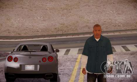 Franklin para GTA San Andreas quinto tela