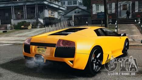 Lamborghini Murcielago LP640 2007 [EPM] para GTA 4 traseira esquerda vista