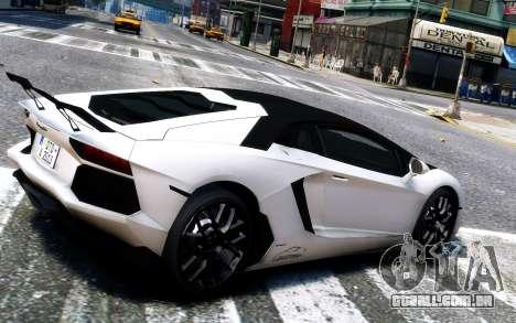 Lamborghini Aventador LP760-4 Oakley Design para GTA 4 vista direita