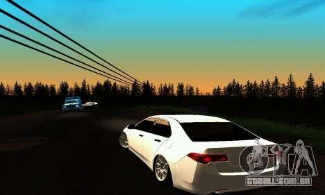 Honda Accord Tuning para GTA San Andreas traseira esquerda vista