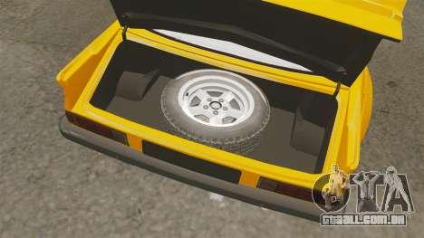 Opel Manta para GTA 4 vista interior