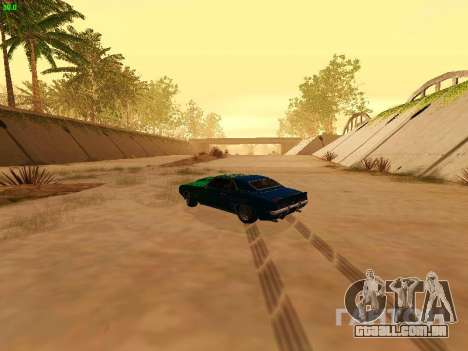 Chevrolet Camaro z28 Falken edition para GTA San Andreas vista interior