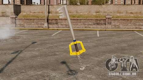 Uma chave enorme para GTA 4 segundo screenshot