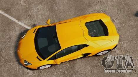 Lamborghini Aventador LP720-4 50th Anniversario para GTA 4 vista direita