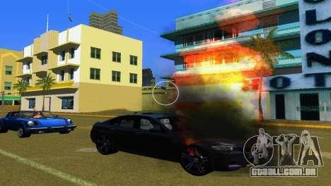 Novos efeitos gráficos v. 2.0 para GTA Vice City terceira tela