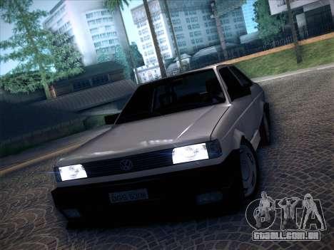 Volkswagen Voyage GL 94 2.0 para GTA San Andreas traseira esquerda vista