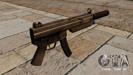A pistola-metralhadora MP5 com silenciador para GTA 4 segundo screenshot