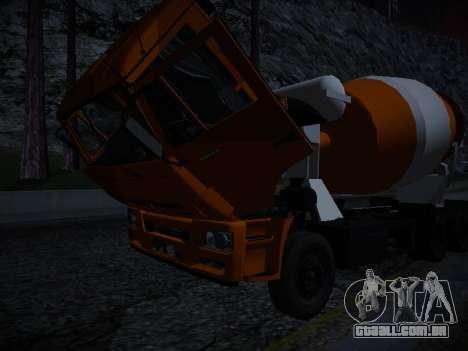 Painel ativo v. 3.2 completo para GTA San Andreas sétima tela