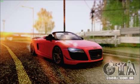Reflective ENBSeries v1.0 para GTA San Andreas oitavo tela