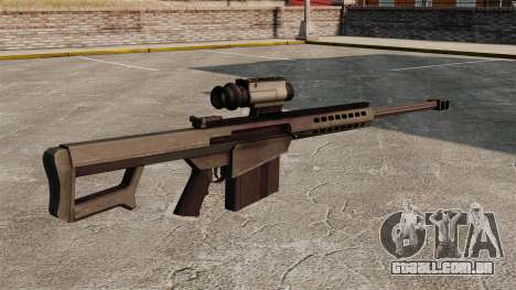 Rifle de sniper Barrett M107 para GTA 4 segundo screenshot