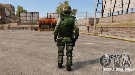 Um comando americano Urban para GTA 4 terceira tela