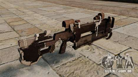 Arma em quadrinhos Seeker para GTA 4 segundo screenshot
