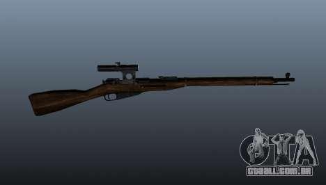 Mosin-Nagant para GTA 4 terceira tela
