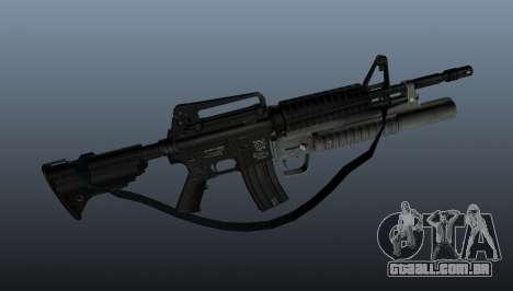 Carabina automática M4A1 v1 para GTA 4 terceira tela