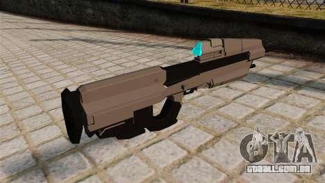 O rifle de assalto do Halo para GTA 4 segundo screenshot