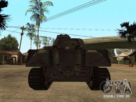 Pzkfpw V Panther para GTA San Andreas vista direita
