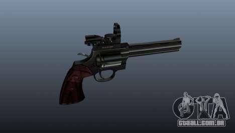Revólver Colt Python. 357 Aimshot para GTA 4 terceira tela