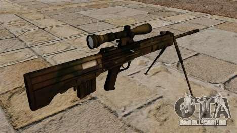 Fuzil de precisão QBU-88 para GTA 4 segundo screenshot