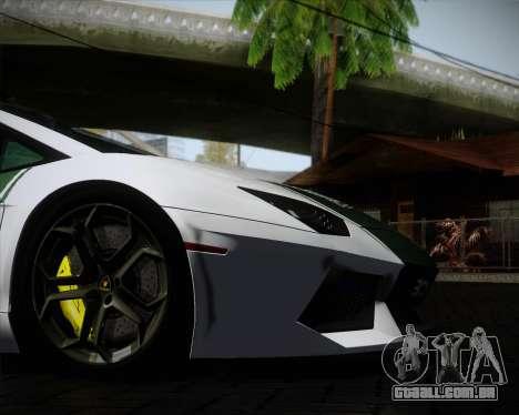 Lamborghini Aventador LP700-4 2012 RCPD V1.0 para GTA San Andreas vista superior