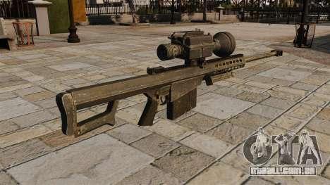 O Barrett M82 sniper rifle para GTA 4 segundo screenshot