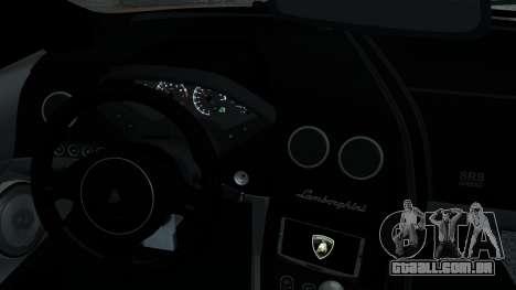 Lamborghini Murcielago LP640 2007 [EPM] para GTA 4 vista inferior