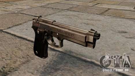 Pistola semi-automática Beretta 92 para GTA 4
