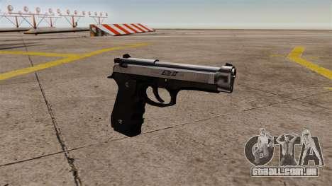 Carregamento automático pistola Beretta M92 para GTA 4