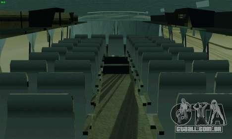 LAZ 699R para GTA San Andreas vista interior
