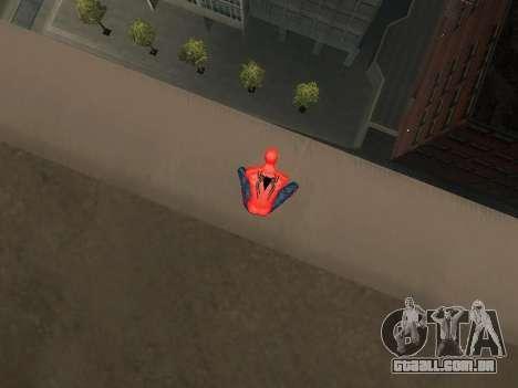 Agachar-se como o homem-aranha para GTA San Andreas segunda tela