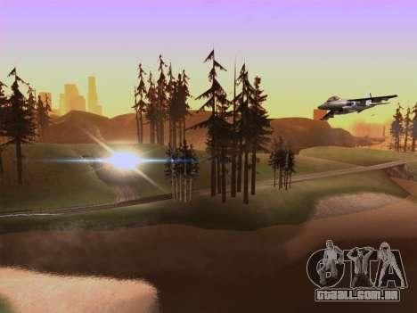 SA_RaptorX v 2.0 para PC fraco para GTA San Andreas por diante tela