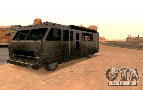 Jornada de GTA 5 para GTA San Andreas esquerda vista