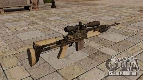 Fuzil M14 para GTA 4 segundo screenshot