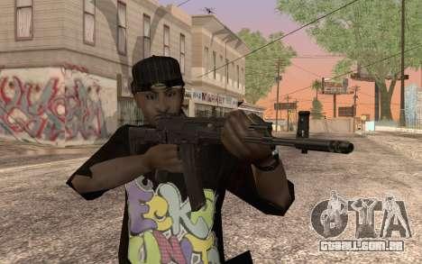 AK12 para GTA San Andreas segunda tela