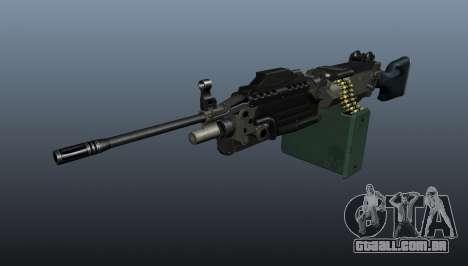 Atualizado M249 metralhadora leve para GTA 4